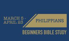 Spring Bible Study - Sundays 10:00 AM