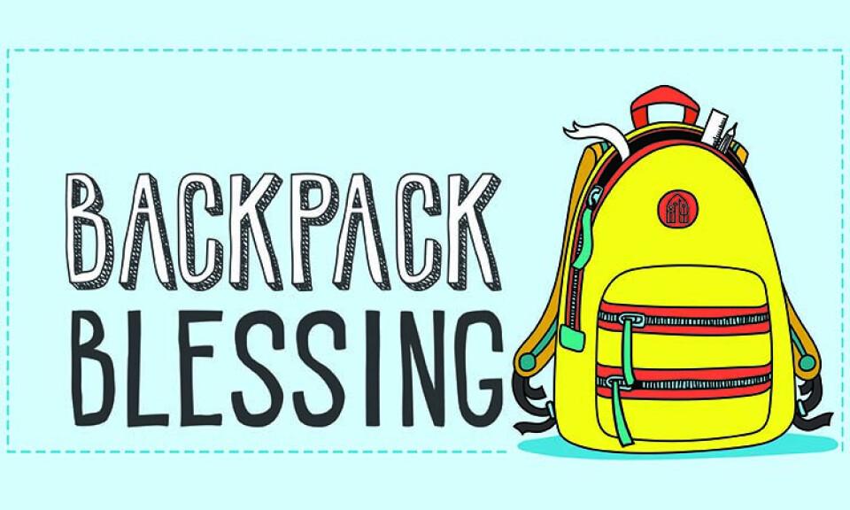 Backpack Blessing